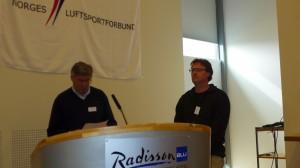 Asle Sudbø og Martin Krafft. Foto: Jo Grini