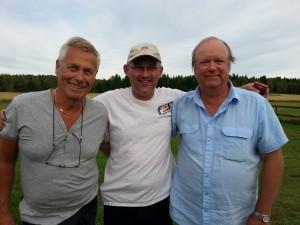 F.v. Lennart arvidsson, Jo Grini og Alf Erik Ross