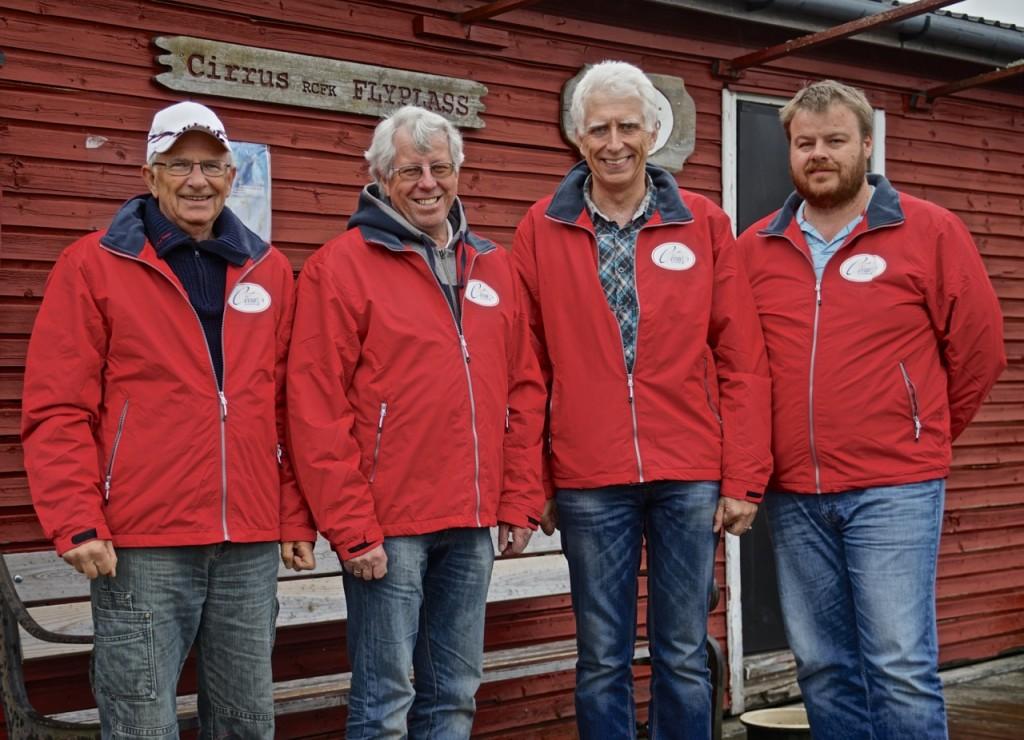 Kjekke karer i nye jakker