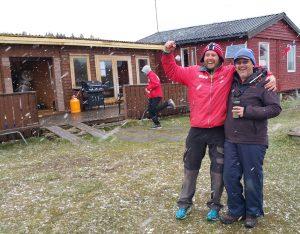 Pallen 20160424 1. plass Kenneth 2. plass Thorbjørn (Ikke til stede når bilde ble tatt) 3. plass Jo